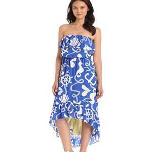 Lilly Pulitzer Caldwell Dock Hopper High-Low Dress